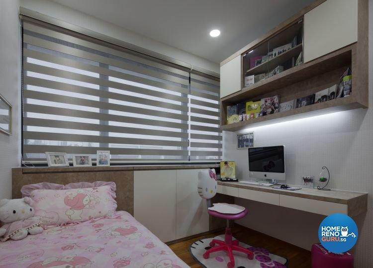Contemporary, Scandinavian Design - Bedroom - HDB 3 Room - Design by Weiken.com Design Pte Ltd