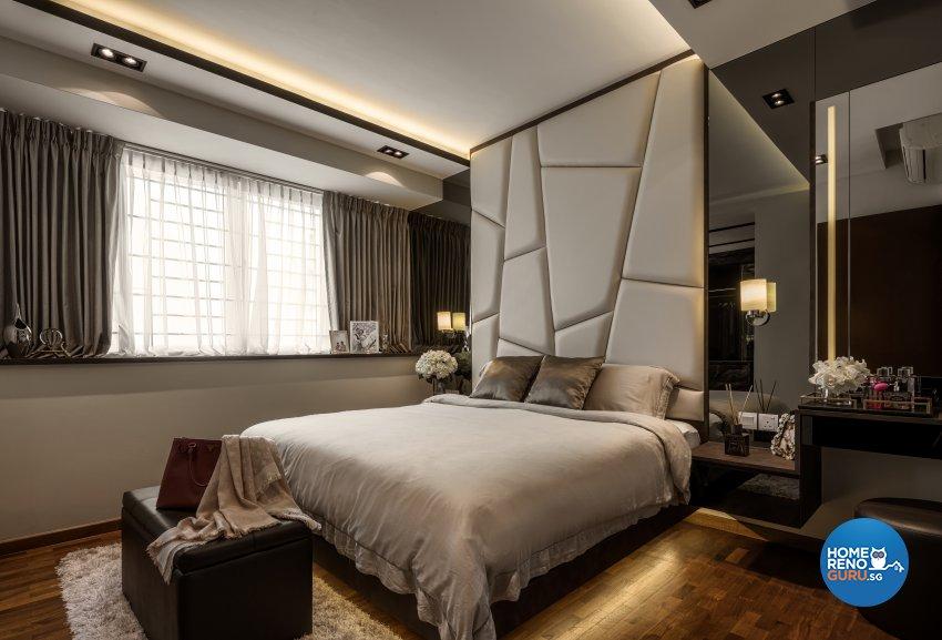 Classical Design - Bedroom - Condominium - Design by Weiken.com Design Pte Ltd