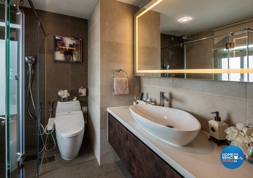 Classical Design - Bathroom - Condominium - Design by Weiken.com Design Pte Ltd