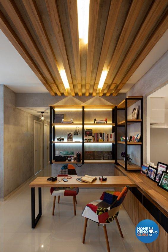 Contemporary, Modern, Scandinavian Design - Entertainment Room - Condominium - Design by Weiken.com Design Pte Ltd