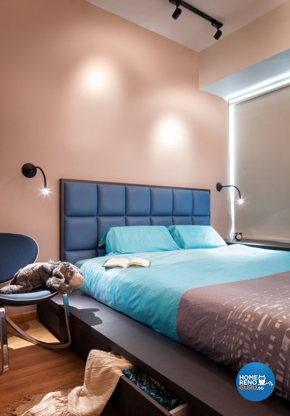 Contemporary, Modern, Scandinavian Design - Bedroom - Condominium - Design by Weiken.com Design Pte Ltd