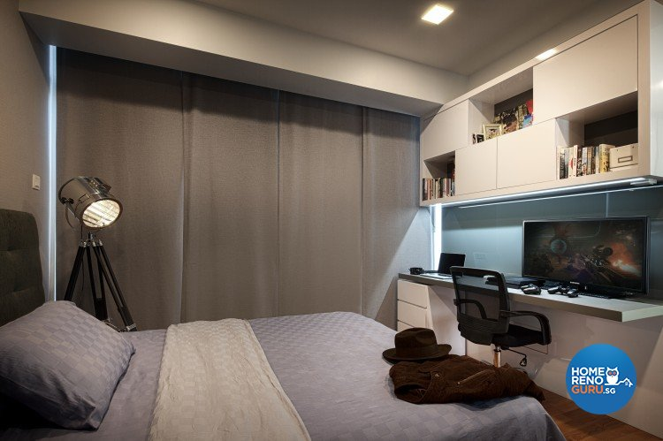 Modern, Vintage Design - Bedroom - Landed House - Design by Weiken.com Design Pte Ltd