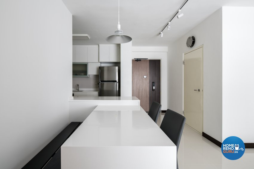 Minimalist Design - Dining Room - Condominium - Design by Weiken.com Design Pte Ltd