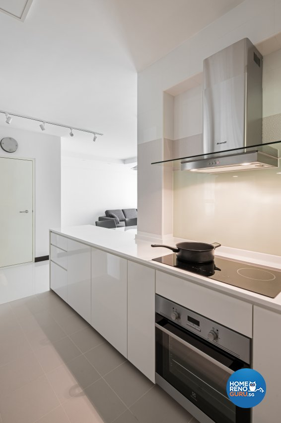 Minimalist Design - Kitchen - Condominium - Design by Weiken.com Design Pte Ltd
