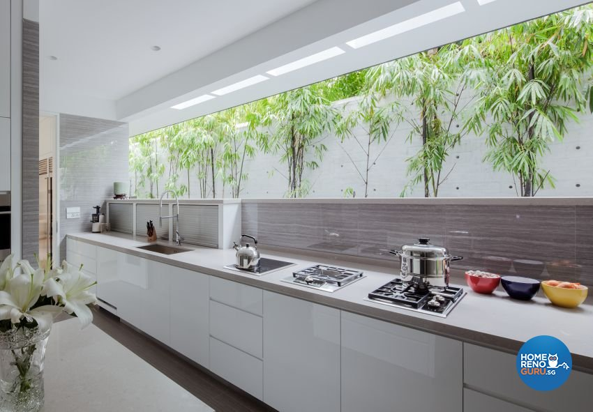 Minimalist Design - Kitchen - Landed House - Design by Weiken.com Design Pte Ltd