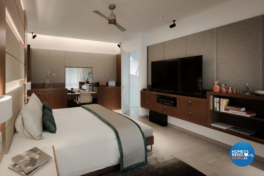 Minimalist Design - Bedroom - Landed House - Design by Weiken.com Design Pte Ltd
