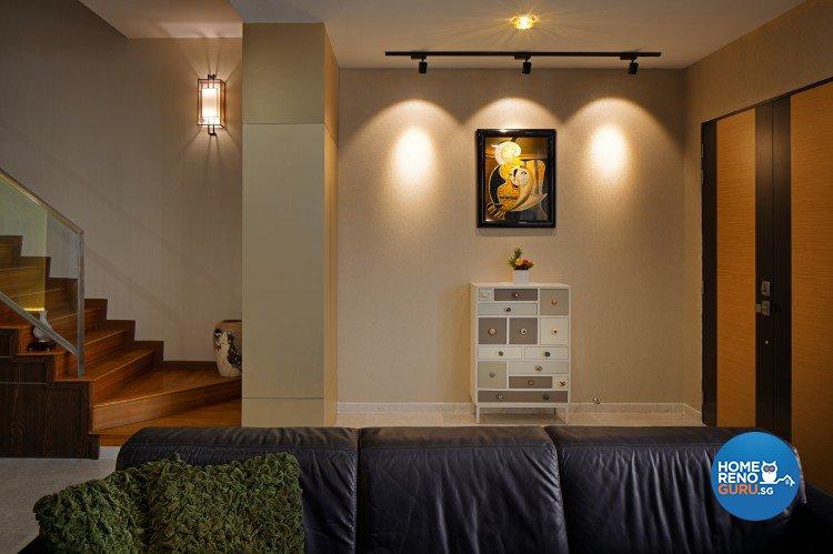 Eclectic, Modern, Vintage Design - Living Room - Landed House - Design by Weiken.com Design Pte Ltd