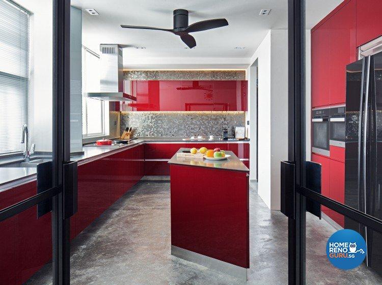 Eclectic, Minimalist Design - Kitchen - Landed House - Design by Weiken.com Design Pte Ltd