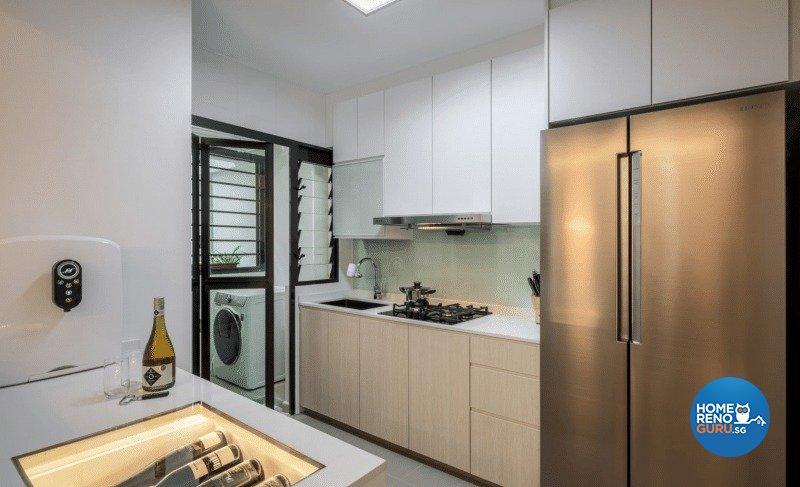 Others Design - Kitchen - HDB 4 Room - Design by Weiken.com Design Pte Ltd