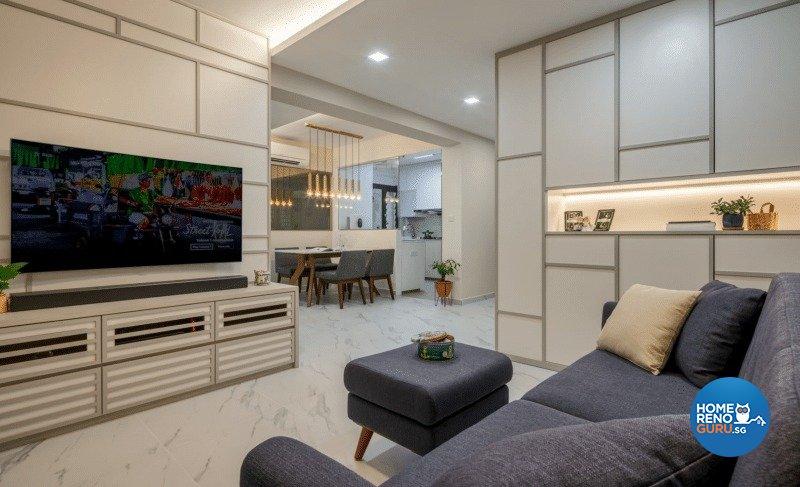 Others Design - Living Room - HDB 4 Room - Design by Weiken.com Design Pte Ltd