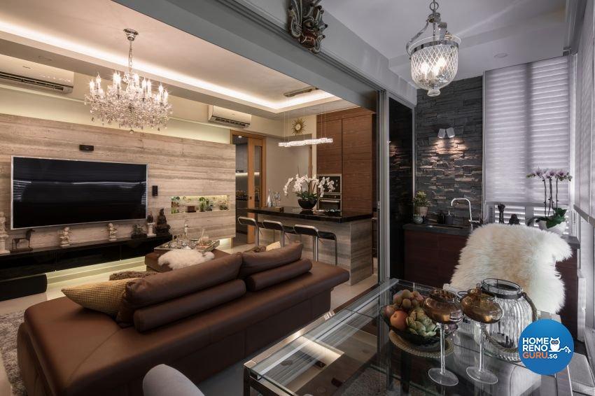 Modern Design - Living Room - Condominium - Design by Weiken.com Design Pte Ltd