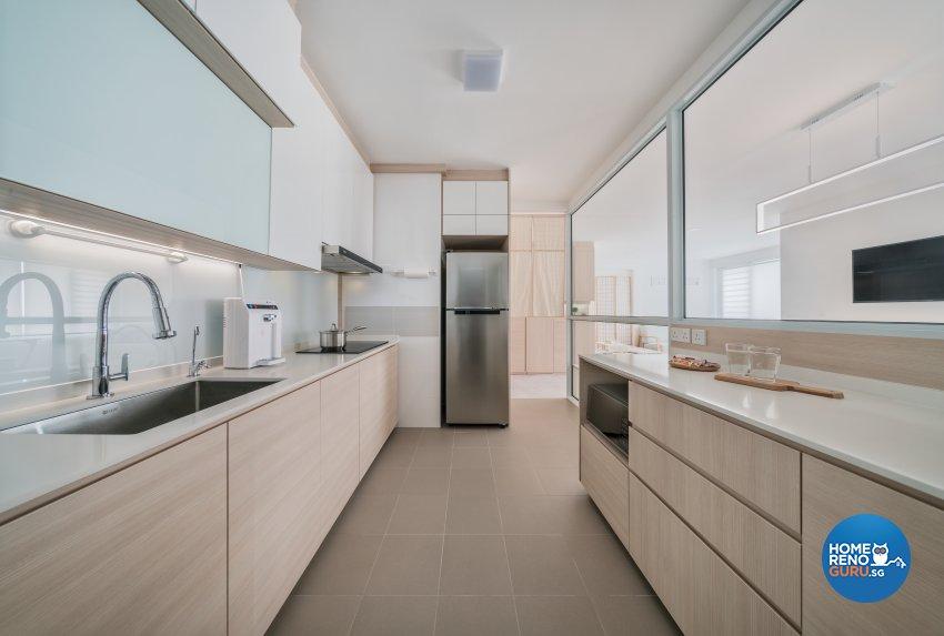 Minimalist, Others Design - Kitchen - HDB 4 Room - Design by Weiken.com Design Pte Ltd