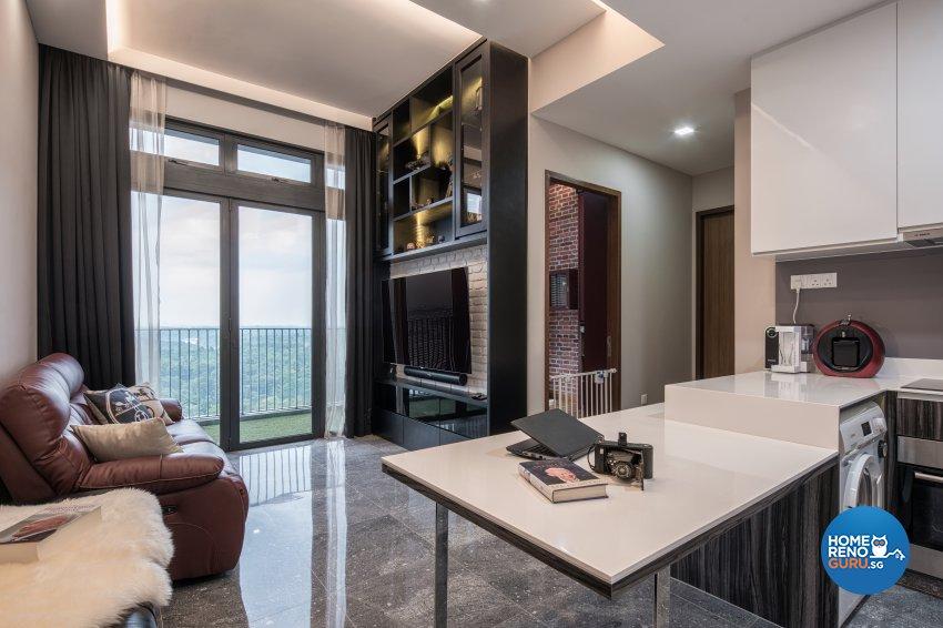 Classical Design - Living Room - Condominium - Design by Weiken.com Design Pte Ltd