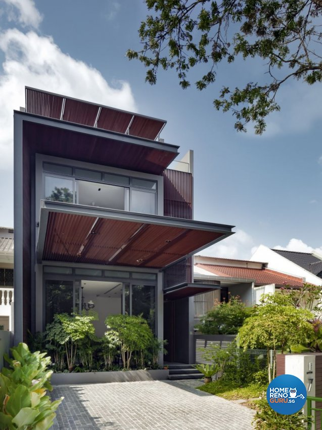 Classical, Contemporary, Modern Design - Balcony - Landed House - Design by Weiken.com Design Pte Ltd