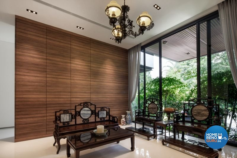 Classical, Contemporary, Modern Design - Living Room - Landed House - Design by Weiken.com Design Pte Ltd