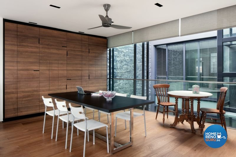 Classical, Contemporary, Modern Design - Dining Room - Landed House - Design by Weiken.com Design Pte Ltd