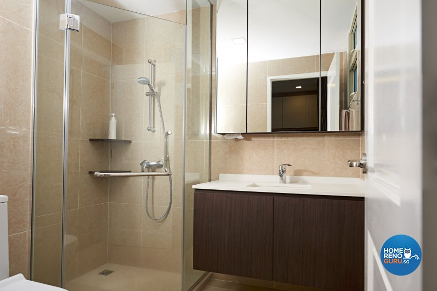 Contemporary Design - Bathroom - Condominium - Design by Weiken.com Design Pte Ltd