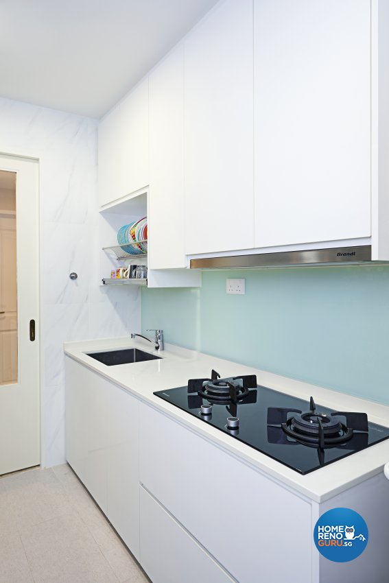 Contemporary Design - Kitchen - Condominium - Design by Weiken.com Design Pte Ltd