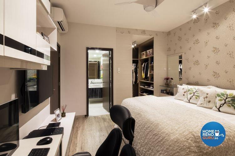Contemporary, Country, Modern Design - Bedroom - Condominium - Design by Weiken.com Design Pte Ltd