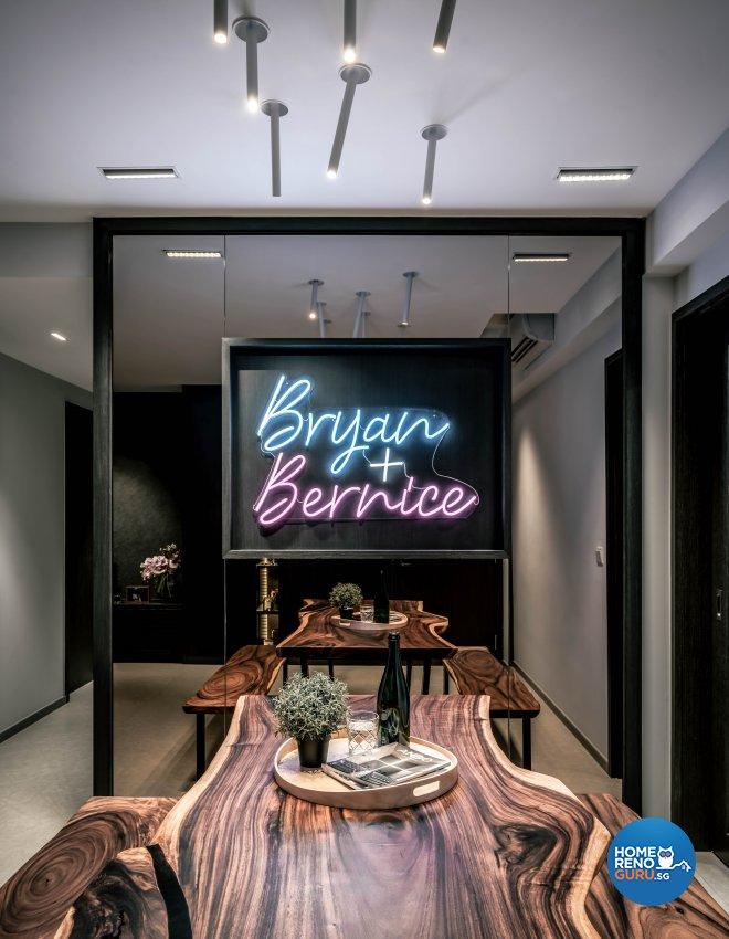 Contemporary Design - Dining Room - Condominium - Design by Weiken.com Design Pte Ltd