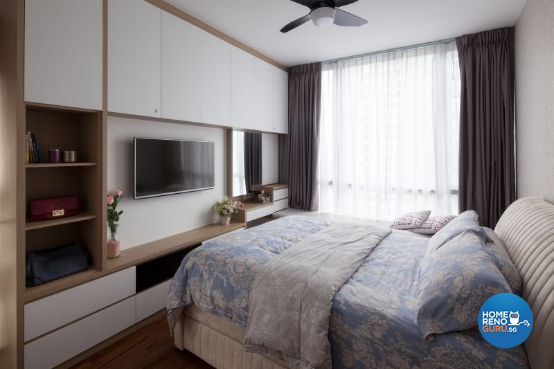 Classical, Country, Modern Design - Bedroom - Condominium - Design by Weiken.com Design Pte Ltd