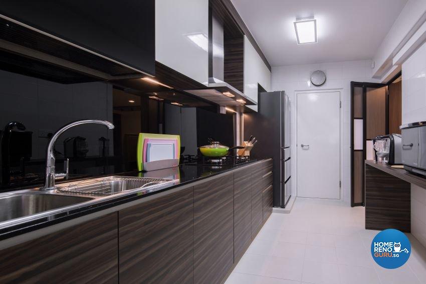 Minimalist Design - Kitchen - HDB 5 Room - Design by Weiken.com Design Pte Ltd