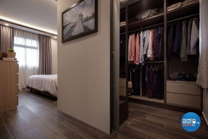 Minimalist Design - Bedroom - HDB 5 Room - Design by Weiken.com Design Pte Ltd
