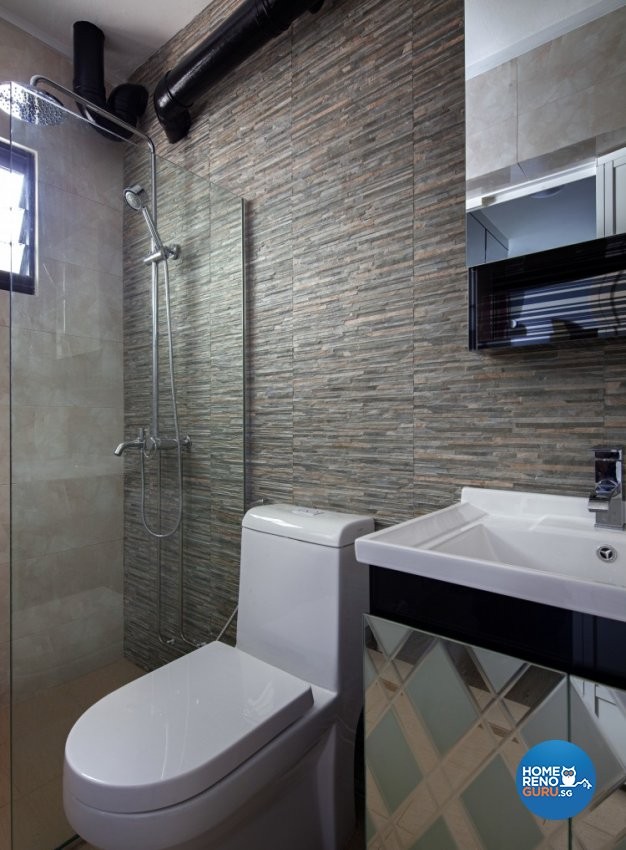 Classical, Contemporary Design - Bathroom - HDB 3 Room - Design by Weiken.com Design Pte Ltd