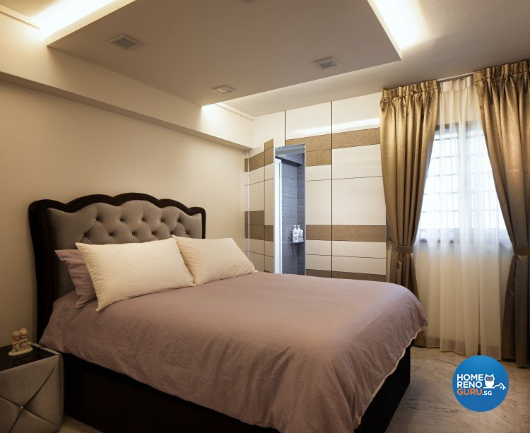 Eclectic, Modern Design - Bedroom - HDB 4 Room - Design by Weiken.com Design Pte Ltd