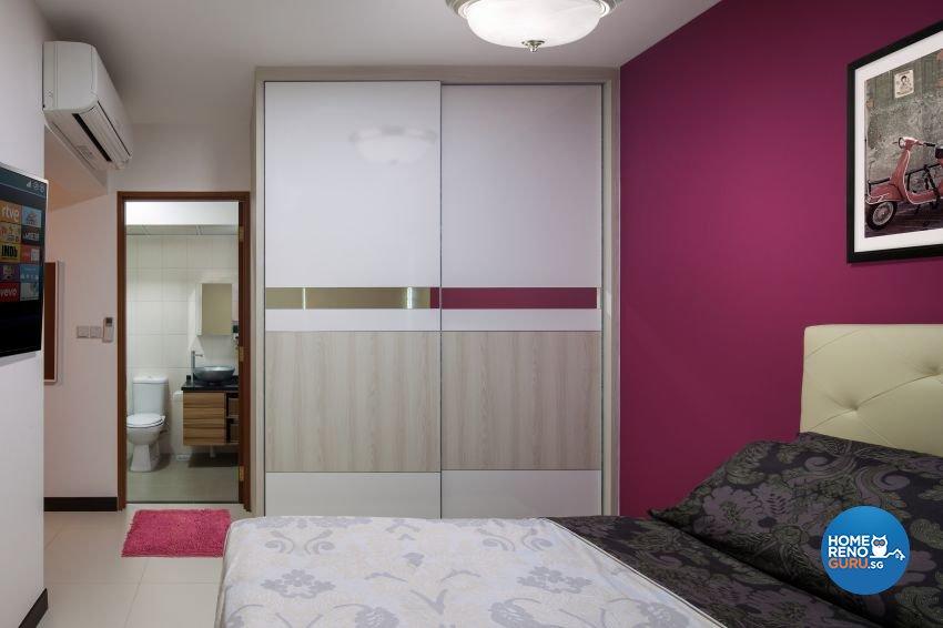 Minimalist Design - Bedroom - HDB 4 Room - Design by Weiken.com Design Pte Ltd