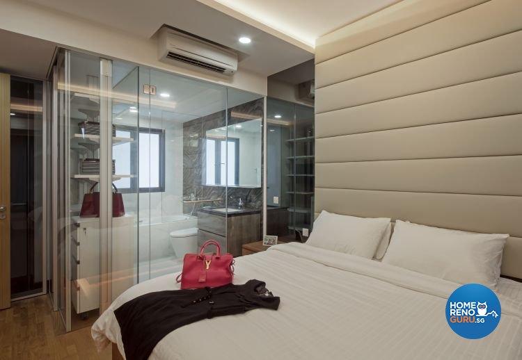 Contemporary, Modern Design - Bedroom - HDB 3 Room - Design by Weiken.com Design Pte Ltd
