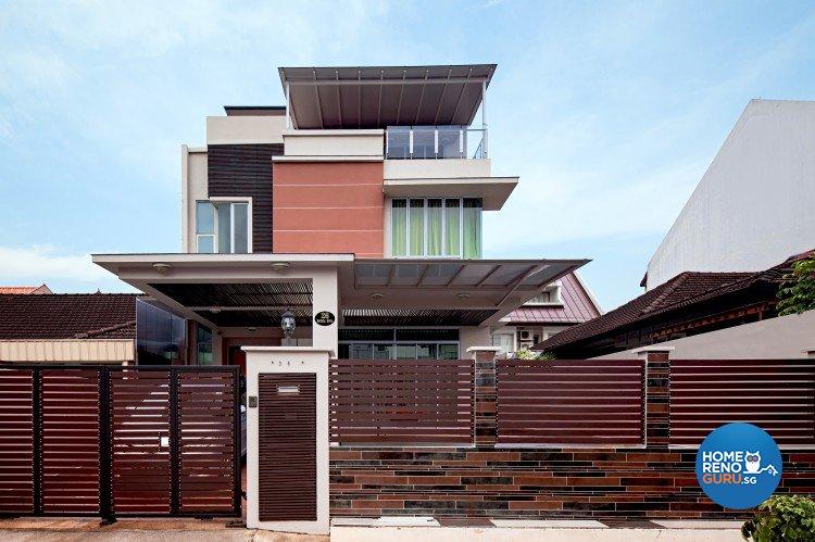 Classical, Contemporary, Modern Design - Balcony - Landed House - Design by Weiken.com Design Pte Ltd