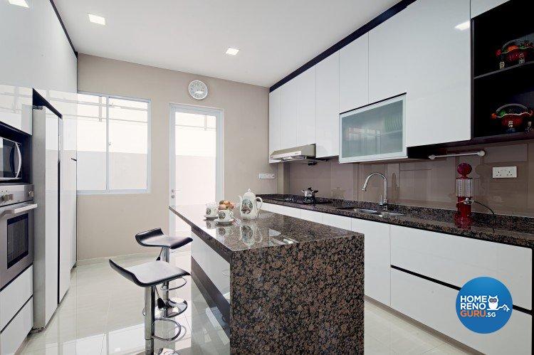 Classical, Contemporary, Modern Design - Kitchen - Landed House - Design by Weiken.com Design Pte Ltd