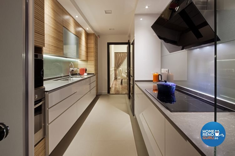 Contemporary, Minimalist Design - Kitchen - Condominium - Design by Weiken.com Design Pte Ltd