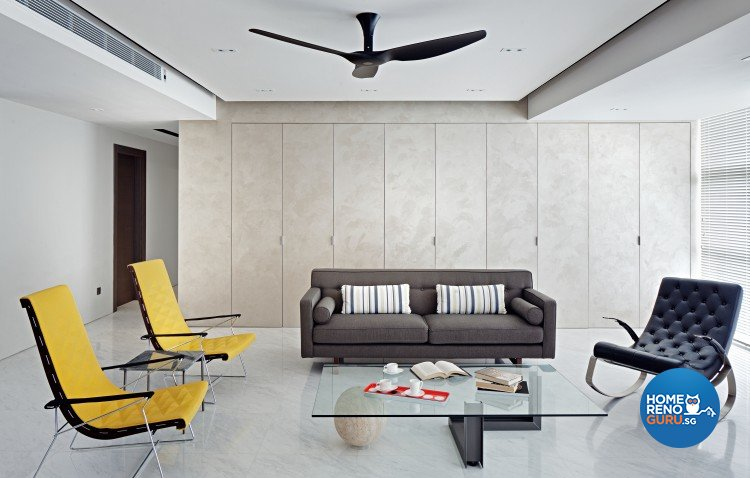 Contemporary, Minimalist Design - Living Room - Condominium - Design by Weiken.com Design Pte Ltd
