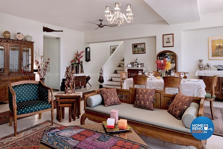 Tropical Design - Living Room - Condominium - Design by Weiken.com Design Pte Ltd