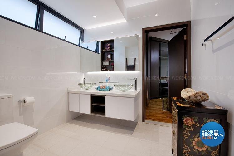 Tropical Design - Bathroom - Condominium - Design by Weiken.com Design Pte Ltd