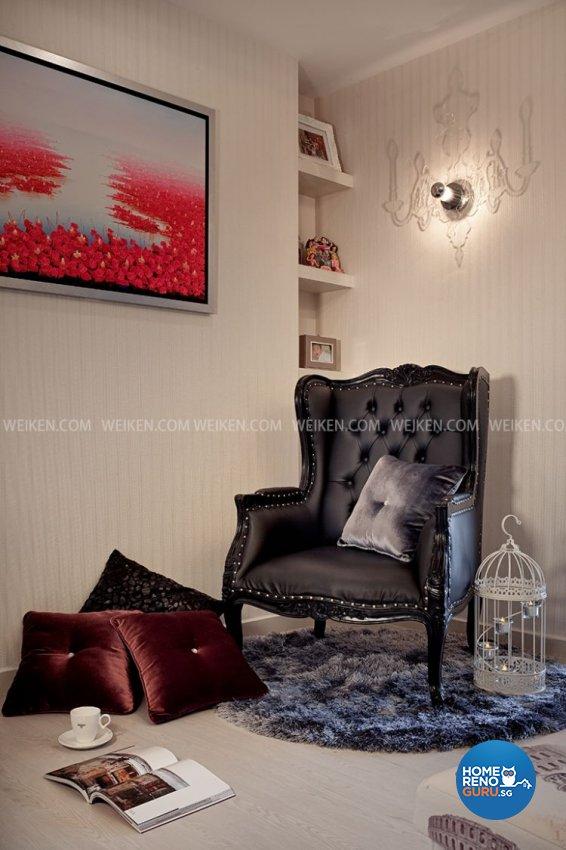 Classical, Contemporary, Resort Design - Entertainment Room - Condominium - Design by Weiken.com Design Pte Ltd