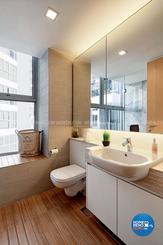 classical contemporary resort design bathroom condominium design by weikencom - Weiken Interior Design