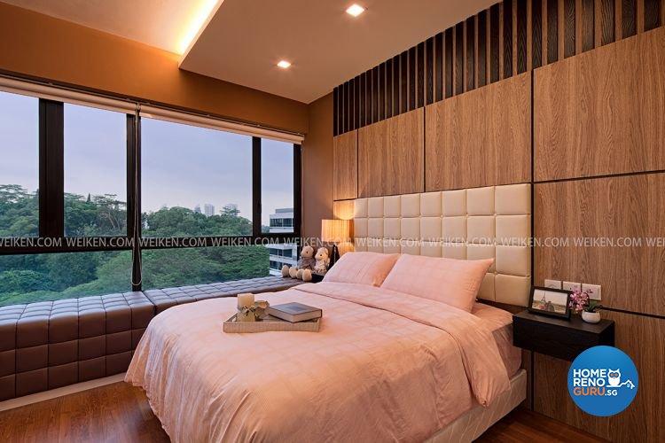 Contemporary, Minimalist Design - Bedroom - Condominium - Design by Weiken.com Design Pte Ltd