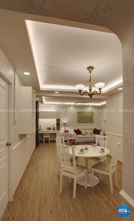 4 Room Hdb Design: Weikencom Design Pte Ltd Hdb 4 Room Blk 120 Teck Whye 662
