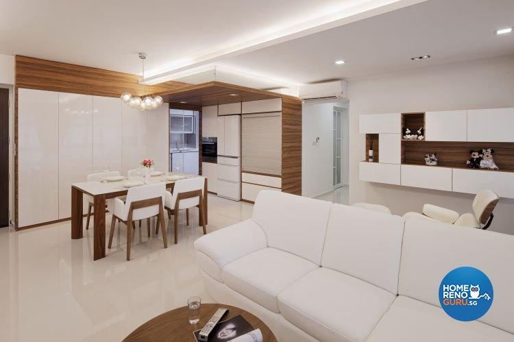 Superb Minimalist, Scandinavian Design   Living Room   HDB 5 Room   Design By  Weiken.