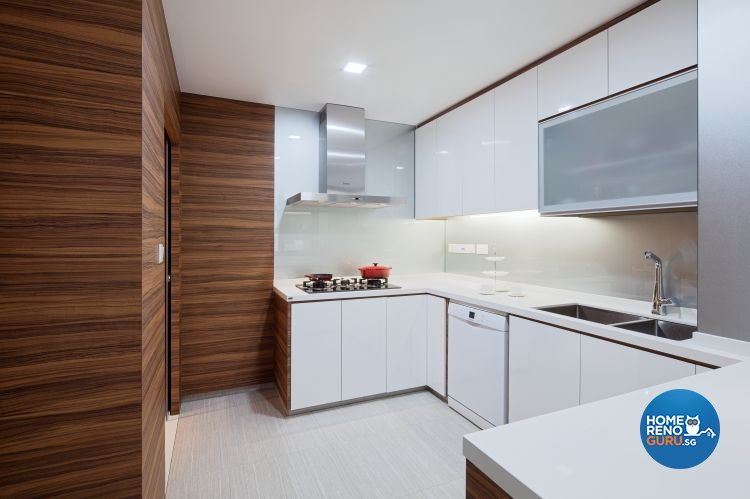 Minimalist, Scandinavian Design - Kitchen - HDB 5 Room - Design by Weiken.com Design Pte Ltd