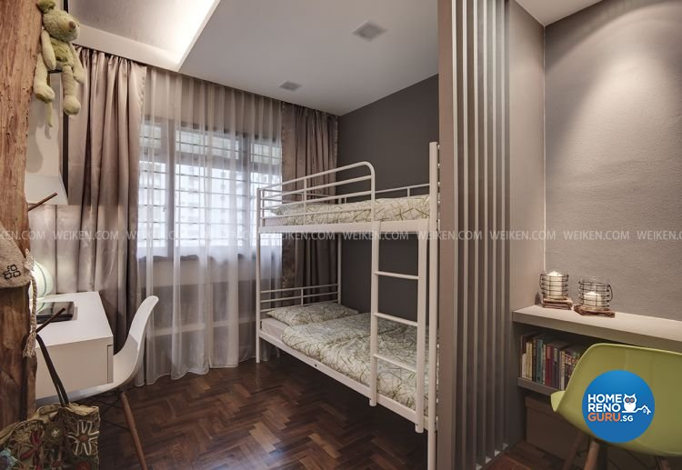 Classical, Contemporary, Modern Design - Bedroom - HDB 5 Room - Design by Weiken.com Design Pte Ltd