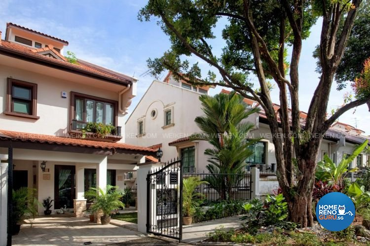 Contemporary, Country, Modern Design - Garden - Landed House - Design by Weiken.com Design Pte Ltd