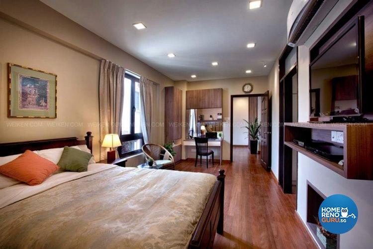 Contemporary, Country, Modern Design - Bedroom - Landed House - Design by Weiken.com Design Pte Ltd