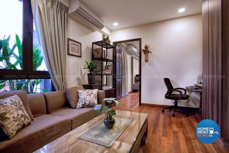 Contemporary, Country, Modern Design - Entertainment Room - Landed House - Design by Weiken.com Design Pte Ltd