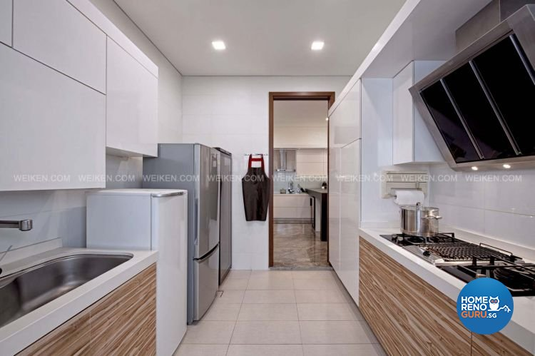 Classical, Contemporary, Modern Design - Kitchen - Landed House - Design by Weiken.com Design Pte Ltd