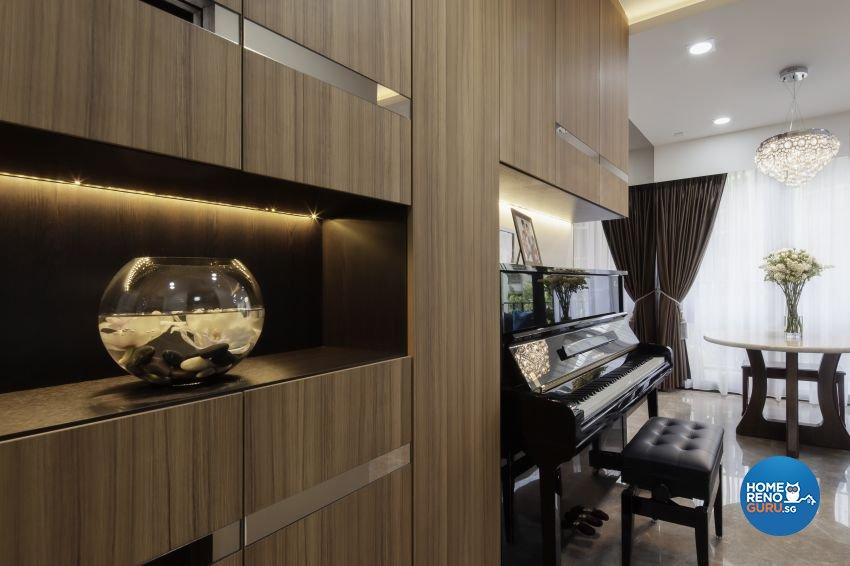 Scandinavian Design - Living Room - Condominium - Design by Weiken.com Design Pte Ltd