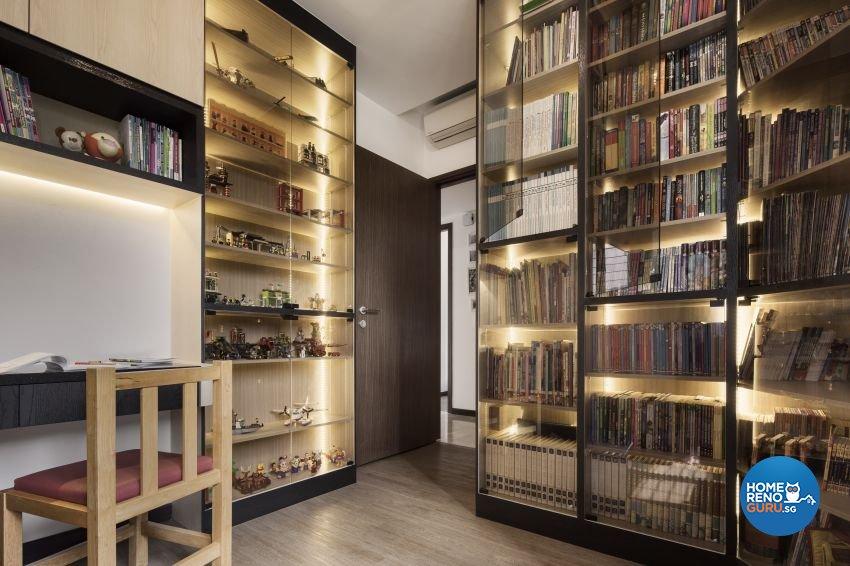 Scandinavian Design - Study Room - Condominium - Design by Weiken.com Design Pte Ltd